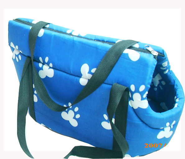 Travel pet carriers bags paw pattern  CJ-110